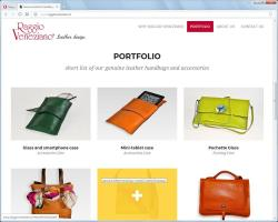 Raggio Veneziano - Real leather bags
