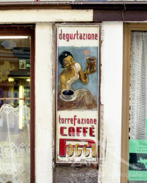 Torrefazione Caffè Poggi. Venezia che non c'è più - 05/1999