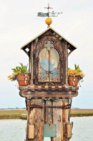 Capitello dedicato alla Madonna - Laguna di Venezia
