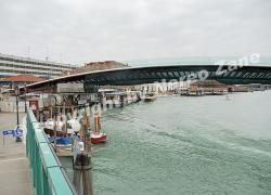 Il ponte di Calatrava in costruzione