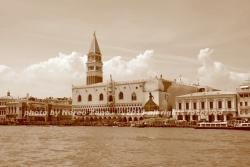 San Marco in sepia