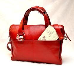 Real leather handbag - Raggio Veneziano