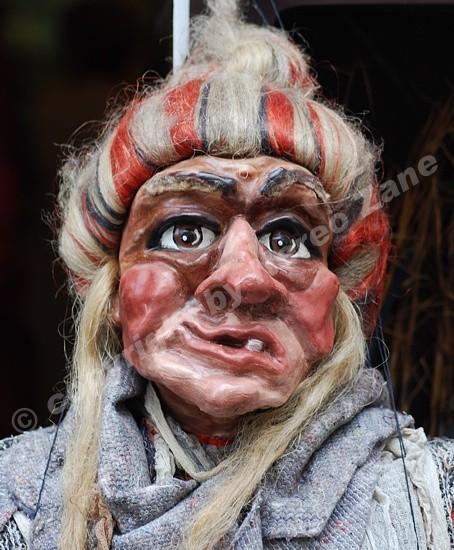 Maschera di cartapesta (Praga)