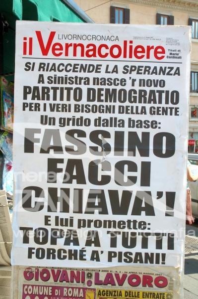 Partito Democratico attento ai bisogni della gente - Roma 2007