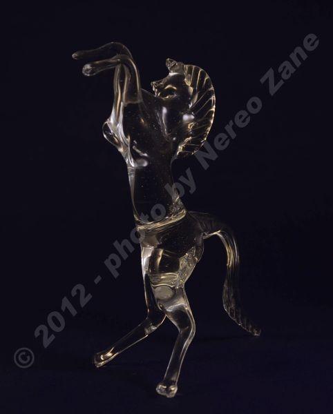 Cavalluccio in vetro di Murano
