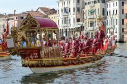 Bissona in Regata Storica - Venezia