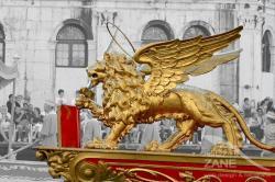 Leòn con libro e spada - Regata Storica 2012