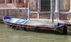 Bragozzetto armato al terzo in canale di Venezia