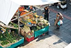 Mercato a Padova (p.zza dei Frutti) - 2008